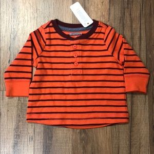Gymboree Baby Boy Thermal Henley Long Sleeve NWT